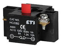 Блок-контакт HC22B2 1НЗ для корп., ETI, 4770382