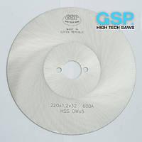Пилы дисковые для резки тонкостенных труб, профилей 200x0,6x32 Z=420 A HSS/DMo5