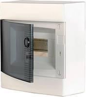 Щит наружн. распределительный ECT 8PT (8мод.прозр.дверь), ETI, 1101000