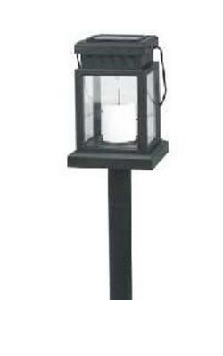 Садовый светильник Feron PL328 свеча (на солнечной батарее)