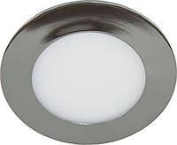 Врезная светодиодная панель Feron   AL500 6W хром, золото.