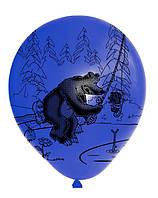 """Шарики воздушные Стандарт 12"""", """"Маша и медведь"""", 200-00376"""