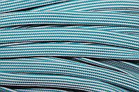 Шнур плоский 15мм (50м) мор.волна+белый , фото 1