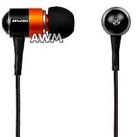 Наушники Awei ES-Q3 оранжевые