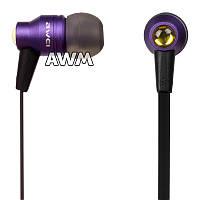 Наушники Awei ES-800m фиолетовые