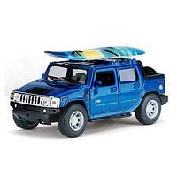 """Игрушечная машина металлическая """"Kinsmart"""" """"Hummer H2 Surfboard"""", 1:40, KT5097WS"""