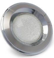 Врезной точечный светильник HDL16133R со стеклом.
