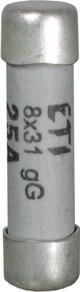 Предохранитель CH 8x32 gG 20A, 400V, ETI, 2610011
