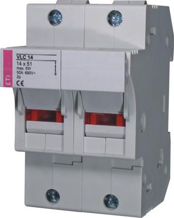 Роз'єднувач VLC 14 2P 690V, ETI, 2563000