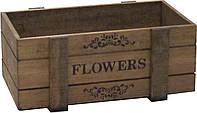 Ящик балконный FLOWERS Орех