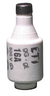 Запобіжник D II gG 2A/500V (E27), ETI, 2312401