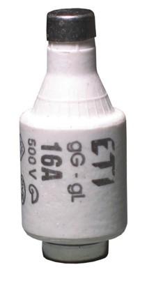 Запобіжник D II DZ 16A/500V (E27), ETI, 2312105