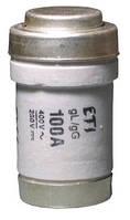 Предохранитель D0 3 gL/gG 80A 400V, ETI, 2213001