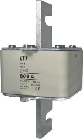 Запобіжник NH-4/gG 1000A 500V (для власників PK 4), ETI, 4116104
