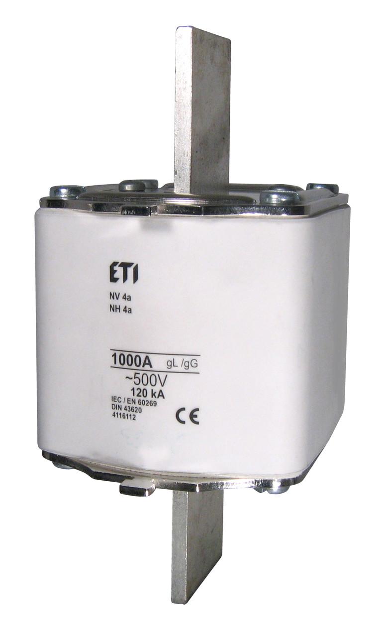Запобіжник NH-4a/gG 800A 500V (для власників HVL), ETI, 4116110