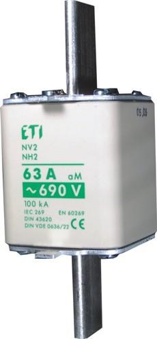 Запобіжник NH-00C/aM 50A 690V KOMBI, ETI, 4181411