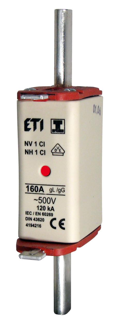 Предохранитель NH-1C/gG 100A 500V KOMBI,  ETI, 4184214