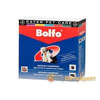 Bolfo (Больфо) ошейник от блох и клещей для кошек и мелких пород собак, 35 см, Bayer (Байер)