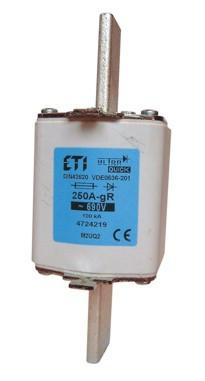 Предохранитель M2UQ2/350A/690V gR (200 kA), ETI, 4724222