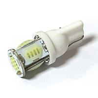 LED Galaxy T10 ( W5W ) COB 5PCS 24 chip White (Белый)