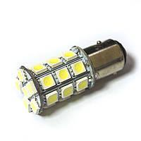 LED Galaxy S25 ( P21-5W 1157 BA15d ) 5050 27SMD White (Белый)