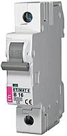 Авт. выключатель ETIMAT 6 1p B 16А (6 kA), ETI, 2111516