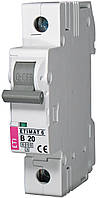 Авт. выключатель ETIMAT 6 1p B 20А (6 kA), ETI, 2111517