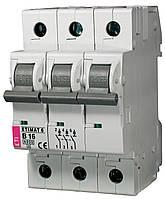 Авт. выключатель ETIMAT 6 3p B 16А (6 kA), ETI, 2115516