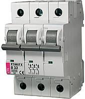 Авт. выключатель ETIMAT 6 3p B 32А (6 kA), ETI, 2115519