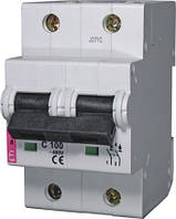 Авт. выключатель ETIMAT 10  2р C 100А (20 kA), ETI, 2133732