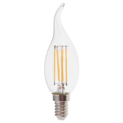 Светодиодная LED лампа Feron LB-159 6W свеча на ветру Filament