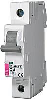 Авт. выключатель ETIMAT 6 1p C 4A (6kA), ETI, 2141510