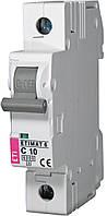 Авт. выключатель ETIMAT 6 1p C 10А (6 kA), ETI, 2141514