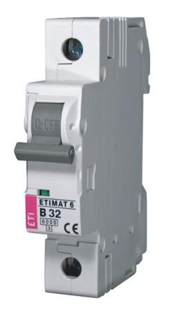 Авт. выключатель ETIMAT 6 1p C 20А (6 kA), ETI, 2141517