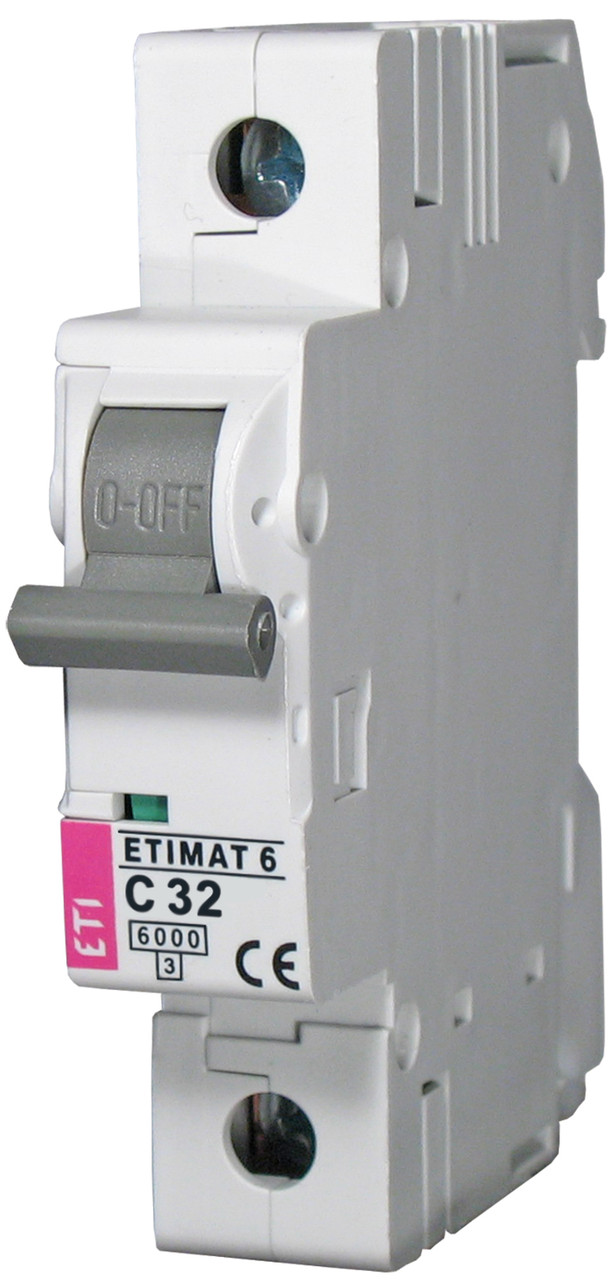 Авт. выключатель ETIMAT 6 1p C 32А (6 kA), ETI, 2141519