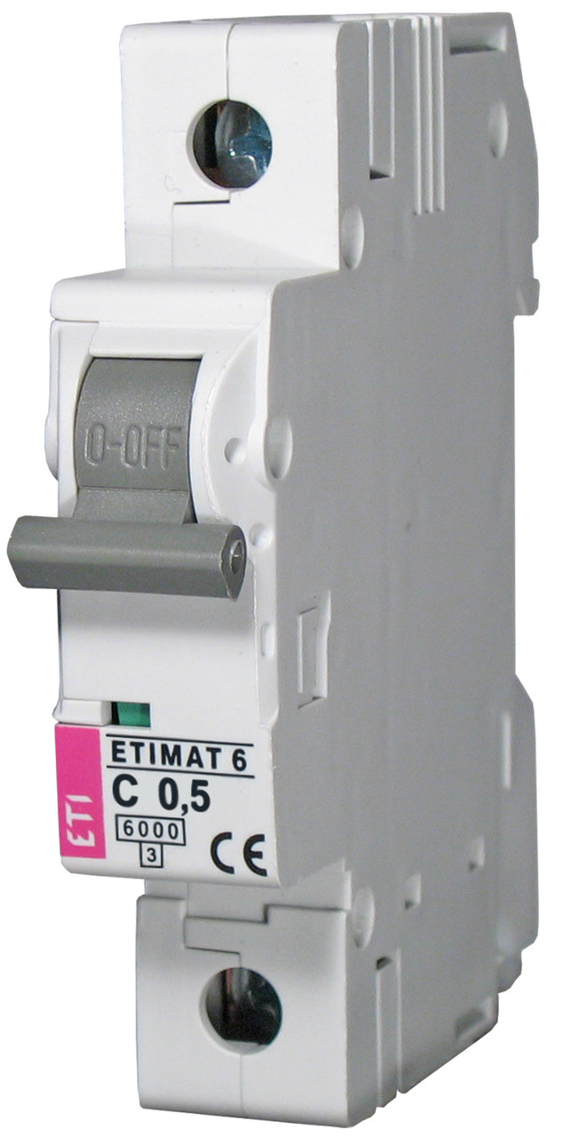 Авт. выключатель ETIMAT 6 1p C 0,5A (6kA), ETI, 2141501