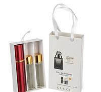 Мини парфюм мужской Gucci By Gucci Pour Homme (Гуччи Бай Гуччи Пур Хом)  3*15 мл.