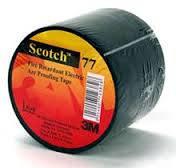 Температуроустойчивая лента 3M™ Scotch ® 77 для защиты оболочки кабеля от огня и дугового разряда, 38 мм x 6 м