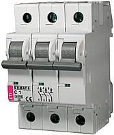 Авт. выключатель ETIMAT 6 3p C 1 A (6kA), ETI, 2145504