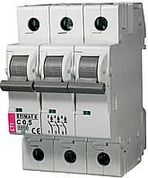 Авт. выключатель ETIMAT 6 3p C 0,5A (6kA), ETI, 2145501