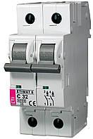 Авт. выключатель ETIMAT 6 2p C 32А (6 kA), ETI, 2143519