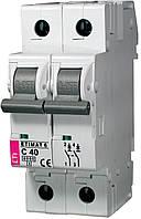 Авт. выключатель ETIMAT 6 2p C 40А (6 kA), ETI, 2143520
