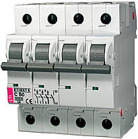 Авт. выключатель ETIMAT 6 3p+N C 50А (6 kA), ETI, 2146521
