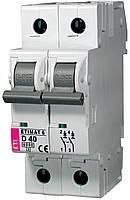 Авт. выключатель ETIMAT 6 2p D 40A (6kA), ETI, 2163520