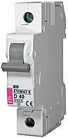 Авт. выключатель ETIMAT 6 1p D 40A (6kA), ETI, 2161520