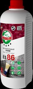 """Лак акриловый,эффект """"влажный камень"""" Anserglob ES - 86 1,0 л"""