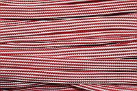 Шнур плоский 15мм (50м) красный+белый , фото 1