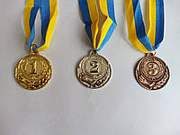 Медаль C-4334 (металл, d-5см, 20g, на ленте )