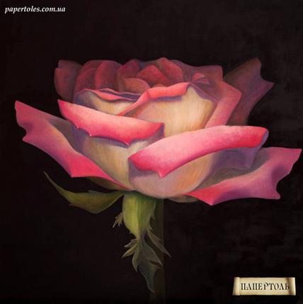"""Набор-папертоль """"Роза на рассвете"""" (20х20), фото 2"""