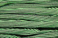 Шнур плоский 15мм (50м) салат+черный , фото 1